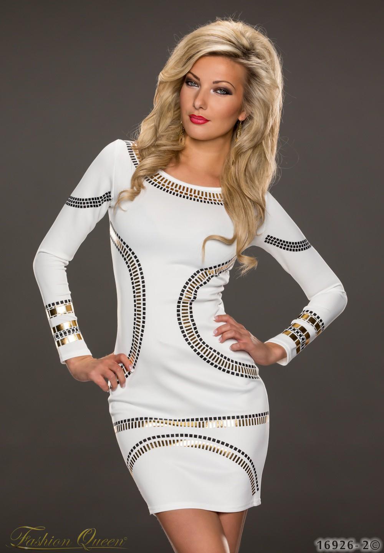 7aae6e203ba0 Fashion Queen - Dámske oblečenie a móda - Šaty s dlhým rukávom