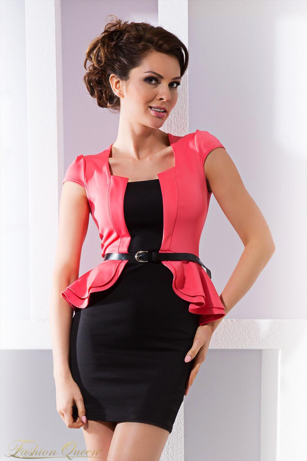 4d042b60eeea Fashion Queen - Dámske oblečenie a móda - Elegantné šaty s krátkym ...