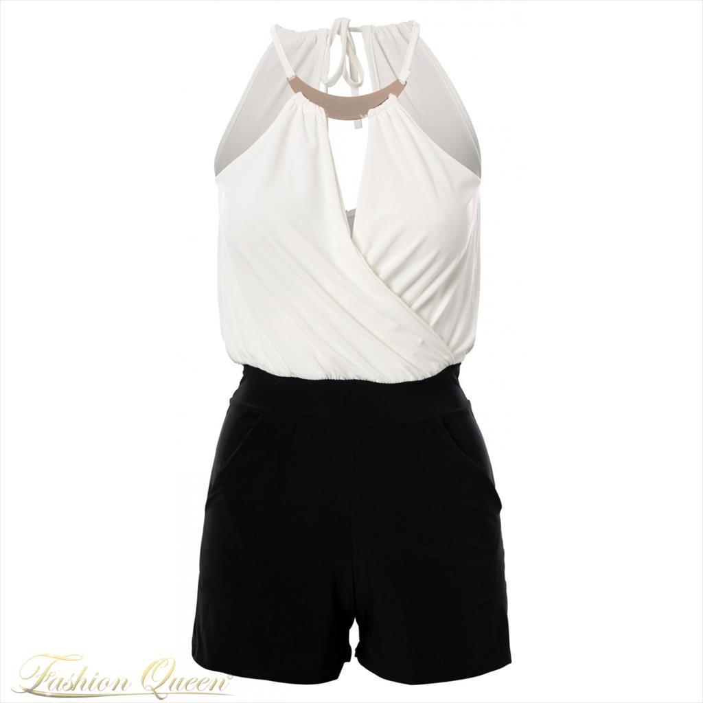 Fashion Queen - Dámske oblečenie a móda - Krátky overal 0ff158bf483