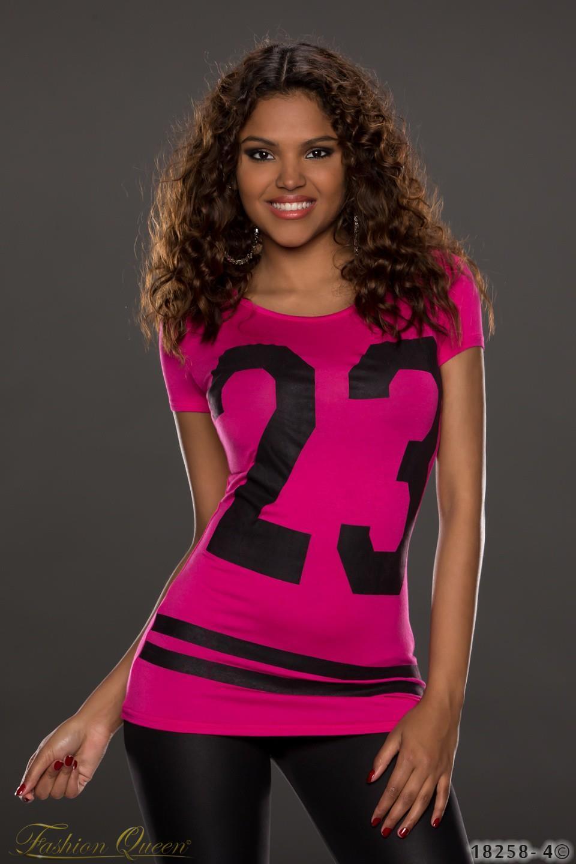 3e132d33497d Fashion Queen - Dámske oblečenie a móda - Tričko s krátkym rukávom