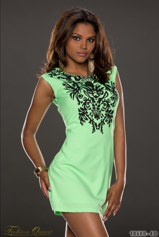 Krásne letné šaty v modernej neónovej farbe. Farba  zelená. Materiál  95%  polyester 5% elastan babbb537d08