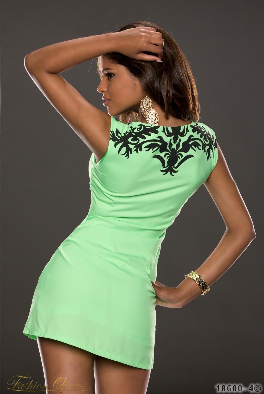 Krásne letné šaty v modernej neónovej farbe. Farba  zelená. Materiál  95%  polyester 5% elastan a6418c419b1