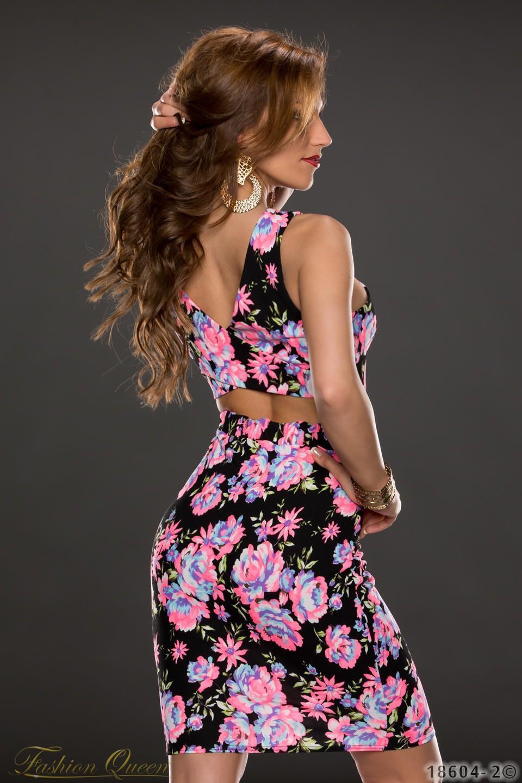 Fashion Queen - Dámske oblečenie a móda - Kvetované šaty e4e406fb9ec