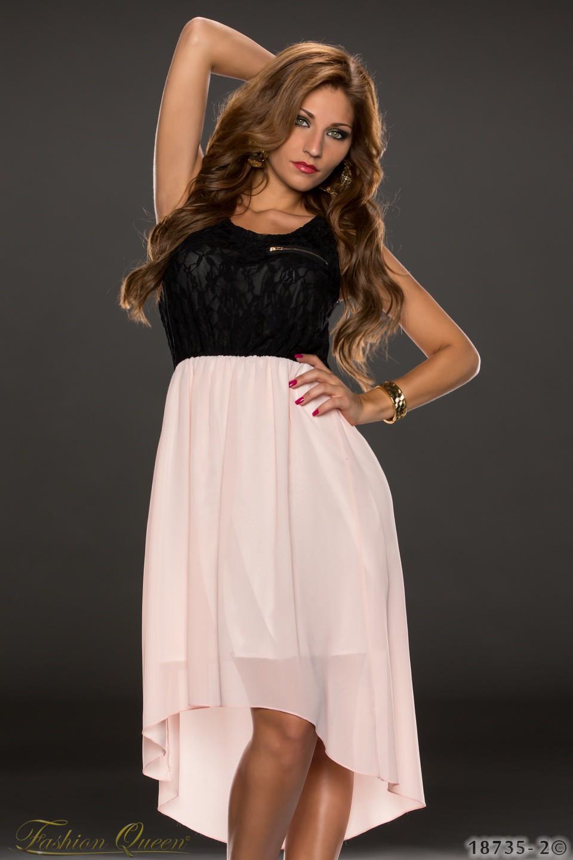 9881fba6c47c Fashion Queen - Dámske oblečenie a móda - Šaty na ramienka asymetrické