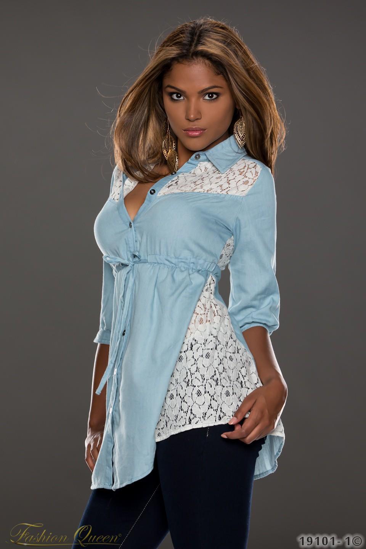 26dedeeea74c Fashion Queen - Dámske oblečenie a móda - Čipkovaná blúzka