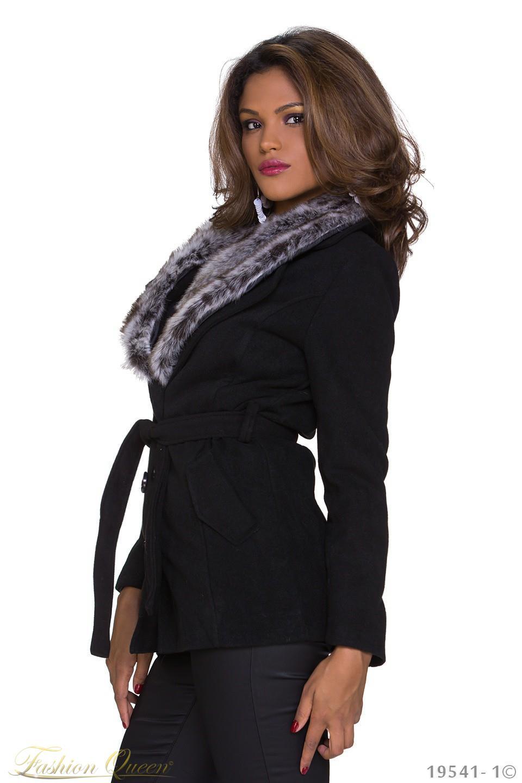Fashion Queen - Dámske oblečenie a móda - Zimný kabát krátky 471d071e58e