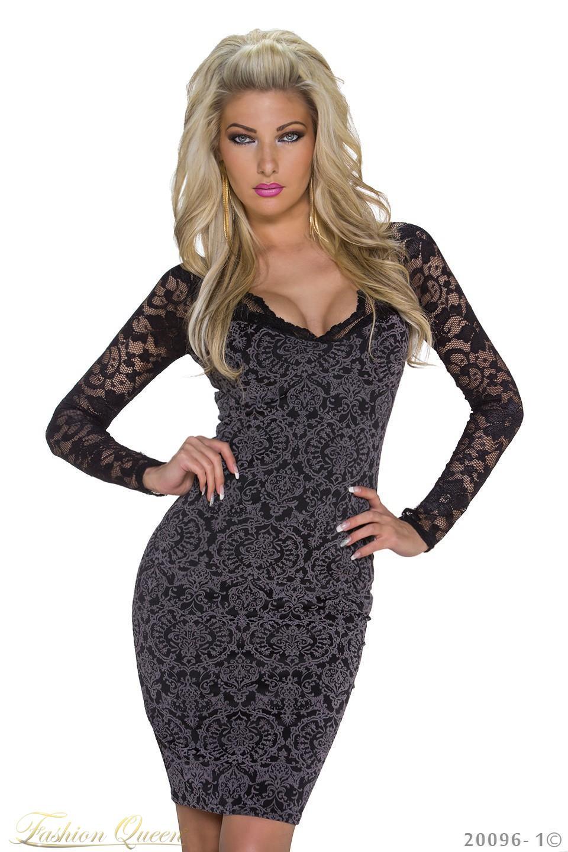 d2afa1293321 Fashion Queen - Dámske oblečenie a móda - Elegantné šaty s čipkou