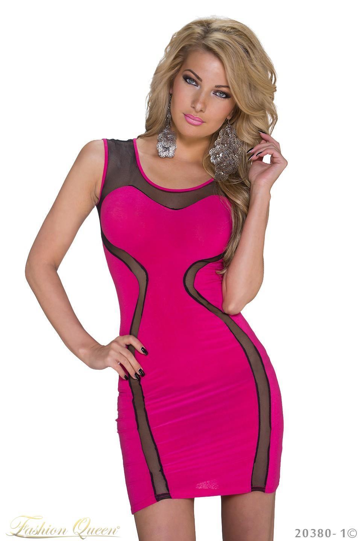 ff7e6a9061ff Fashion Queen - Dámske oblečenie a móda - Ružové minišaty