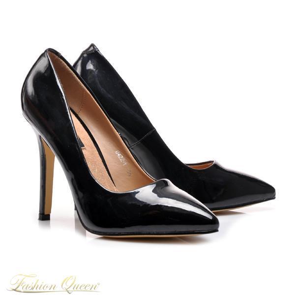 1a1dc4d368 Fashion Queen - Dámske oblečenie a móda - Čierne lodičky