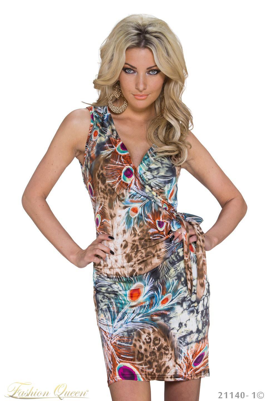 9e3c7df8281b Fashion Queen - Dámske oblečenie a móda - Farebné letné šaty