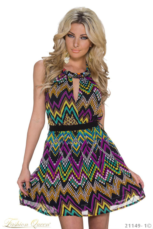 70151f115673 Fashion Queen - Dámske oblečenie a móda - Letné farebné šaty