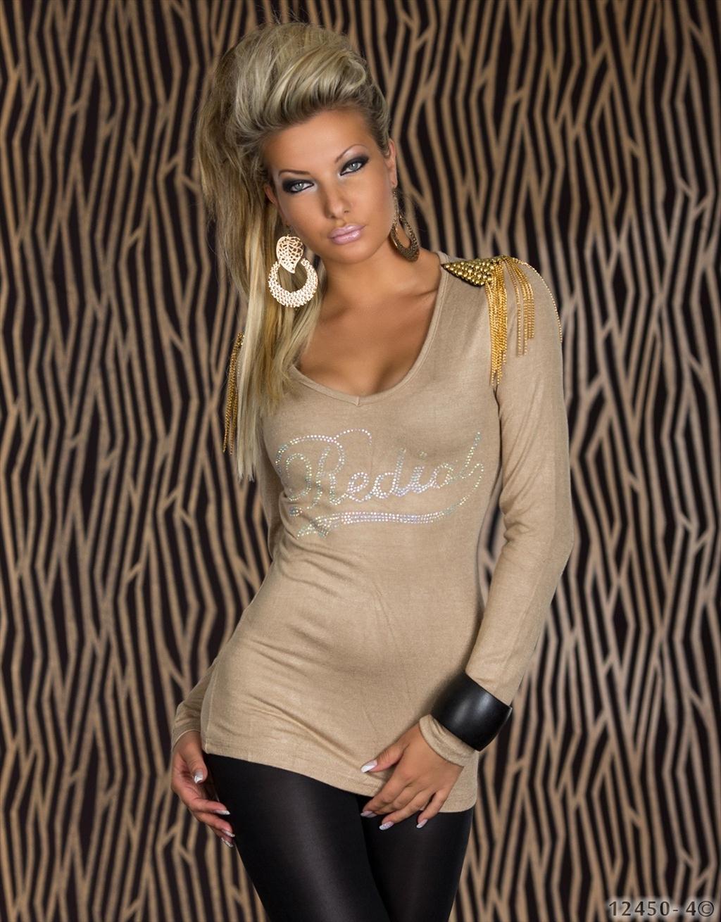 49c43adbb805 Fashion Queen - Dámske oblečenie a móda - Sveter REDIAL