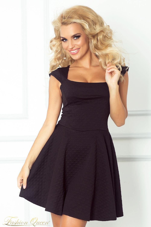 949fb822e07f Fashion Queen - Dámske oblečenie a móda - Áčkové šaty čierne