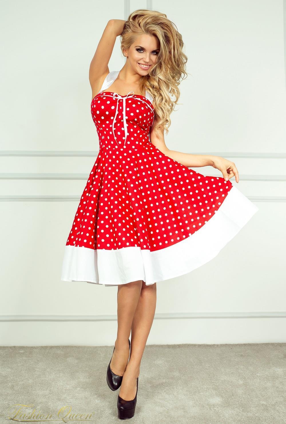 a8fef2f305251 Fashion Queen - Dámske oblečenie a móda - Bodkované šaty