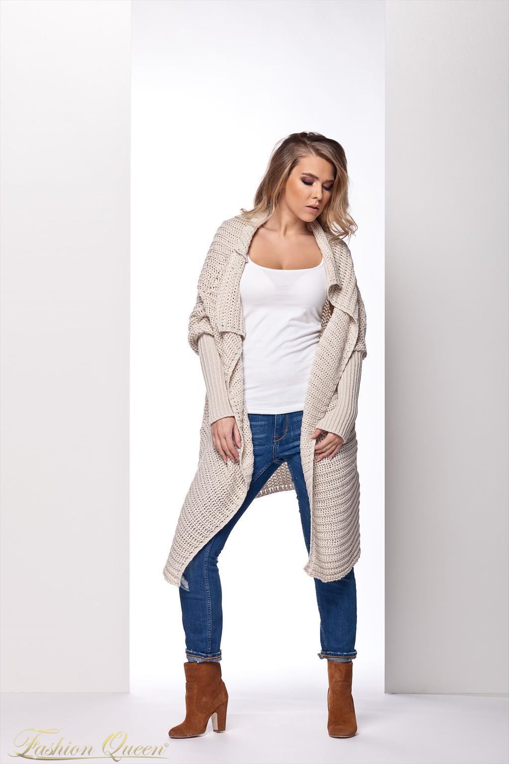 688158ecaf6a Fashion Queen - Dámske oblečenie a móda - Cardigan dlhý