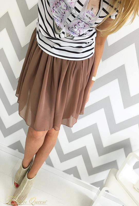 32fcbe553fa7 Fashion Queen - Dámske oblečenie a móda - Šifónová sukňa