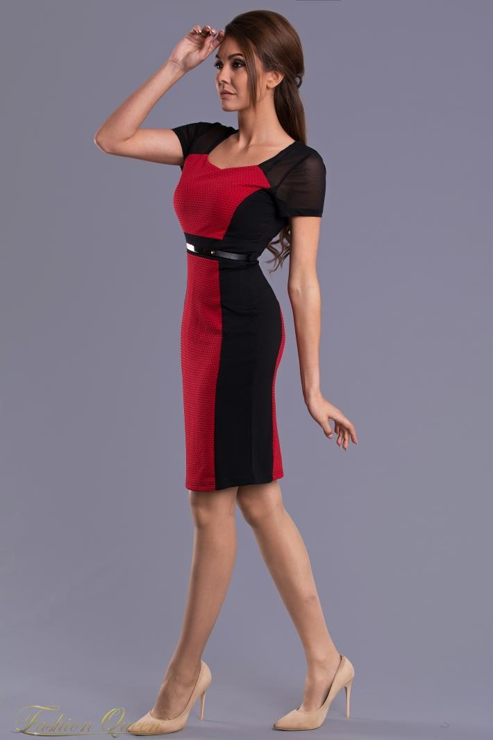 f2c44e8843f0 Fashion Queen - Dámske oblečenie a móda - Puzdrové šaty s rukávom