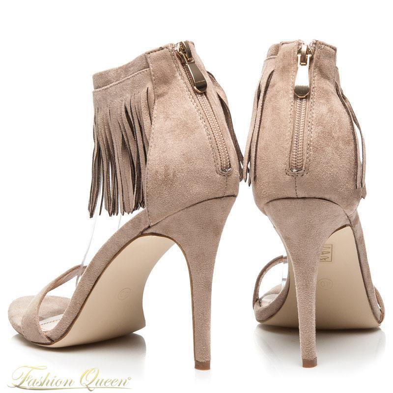 f16e87a44e Fashion Queen - Dámske oblečenie a móda - Sandále so strapcami
