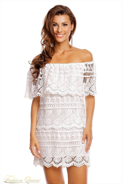 b12fd3d6a4f1 Fashion Queen - Dámske oblečenie a móda - Letné šaty čipkované