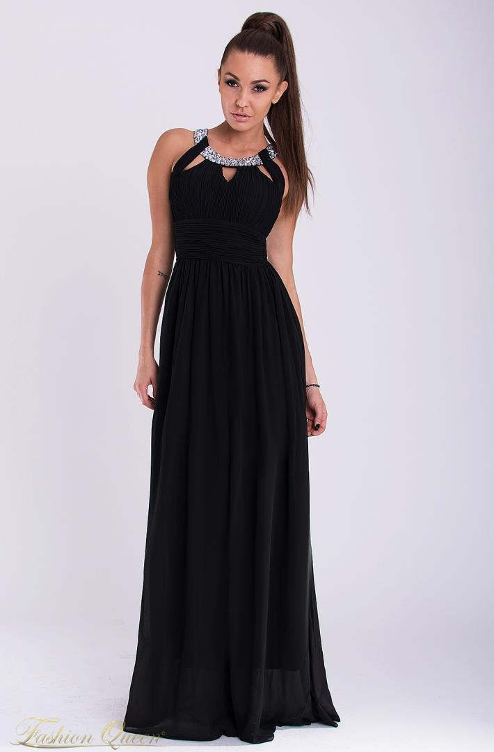 fb4dca2168 Fashion Queen - Dámske oblečenie a móda - Spoločenské šaty s kamienkami
