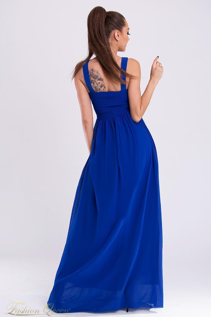 Fashion Queen - Dámske oblečenie a móda - Modré plesové šaty 683fb603840