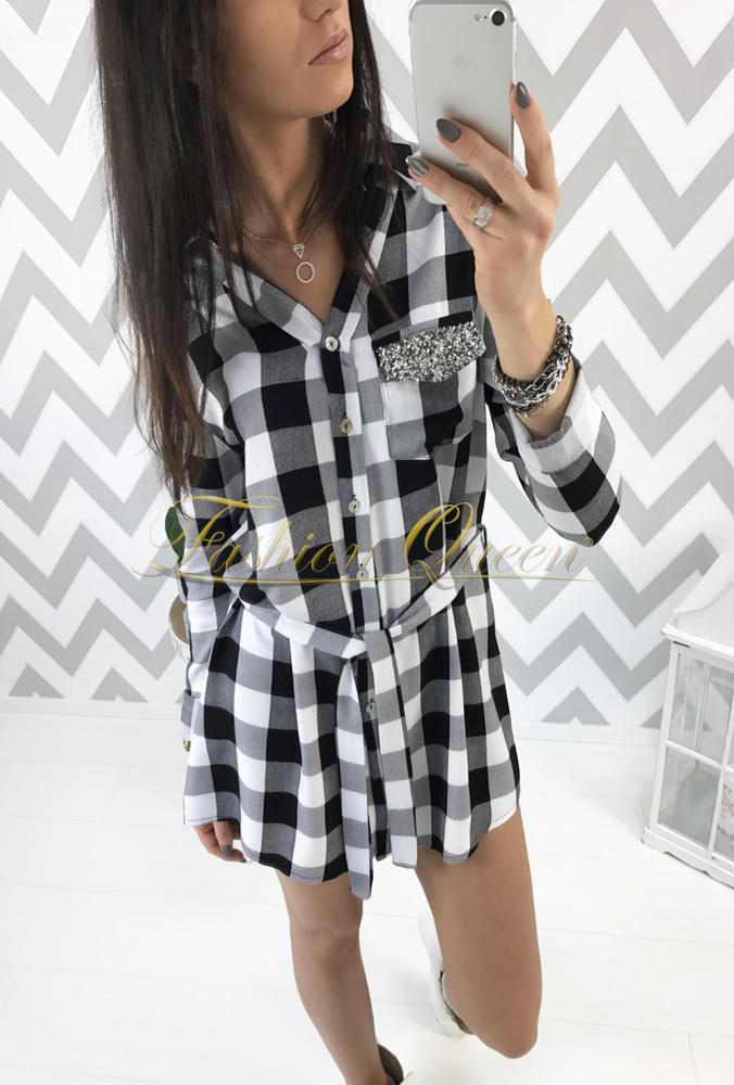2ce878fe92 Fashion Queen - Dámske oblečenie a móda - Kockovaná košeľa