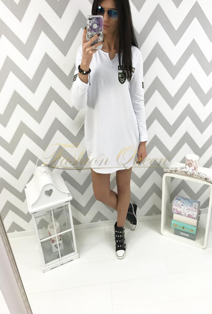 6722f6fdf417 Fashion Queen - Dámske oblečenie a móda - Oversize army šaty
