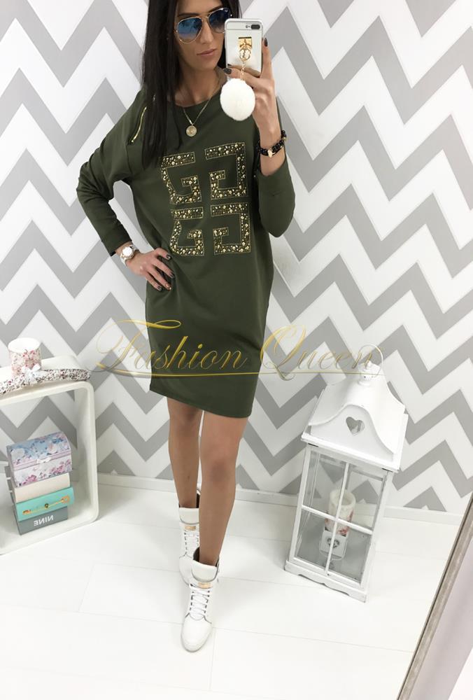 bee2be1b0493 Fashion Queen - Dámske oblečenie a móda - Oversize šaty s potlačou