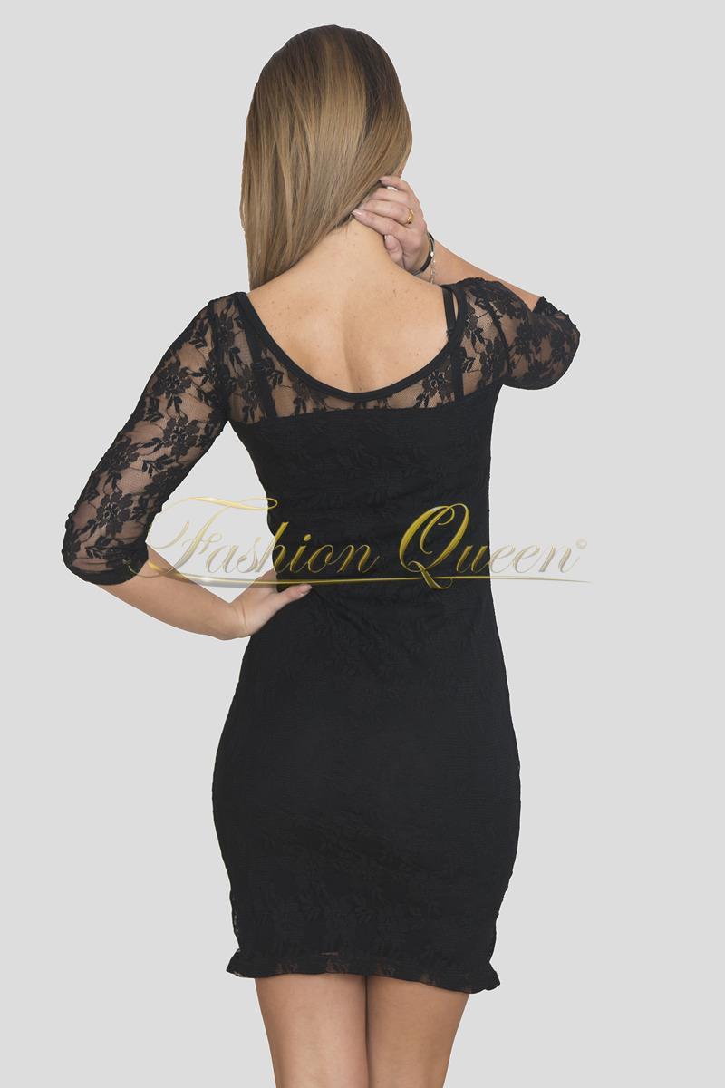 d7282edbfb53 Fashion Queen - Dámske oblečenie a móda - Čierne čipkované šaty