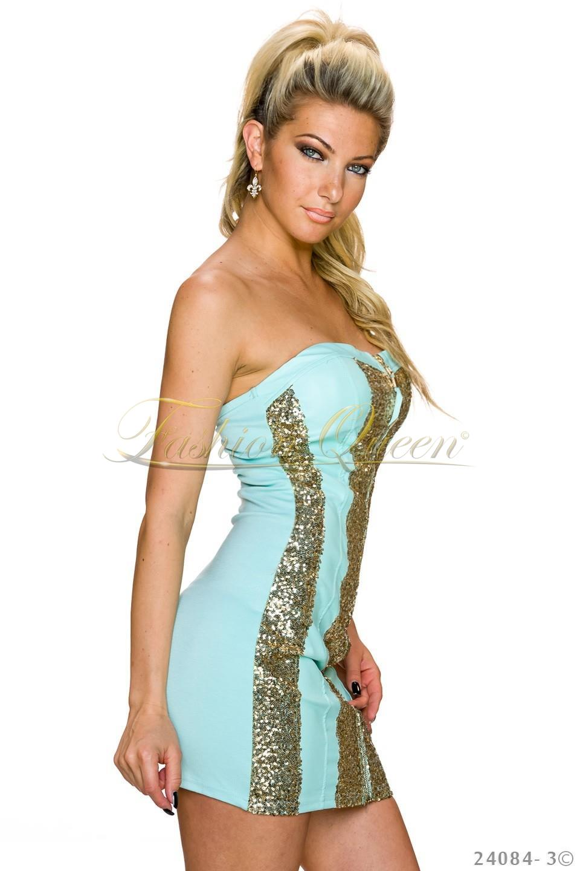 a4a87df896ce Fashion Queen - Dámske oblečenie a móda - Tyrkysové šaty