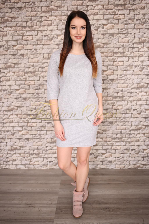Fashion Queen - Dámske oblečenie a móda - Bavlnené šaty s vreckami 9bcb5c72b34