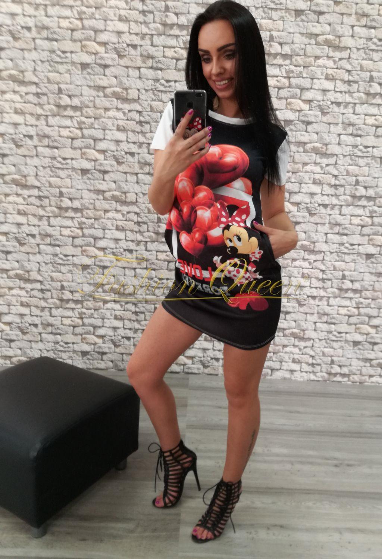 "f960f69d19b6 Fashion Queen - Dámske oblečenie a móda - Minišaty ""minnie mouse"""