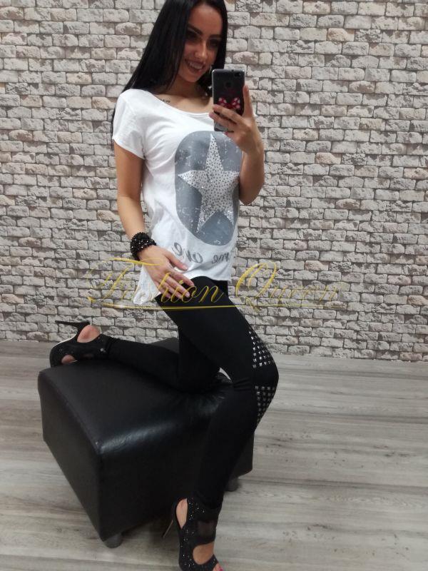 119ba942a Fashion Queen - Dámske oblečenie a móda - Vybíjané legíny
