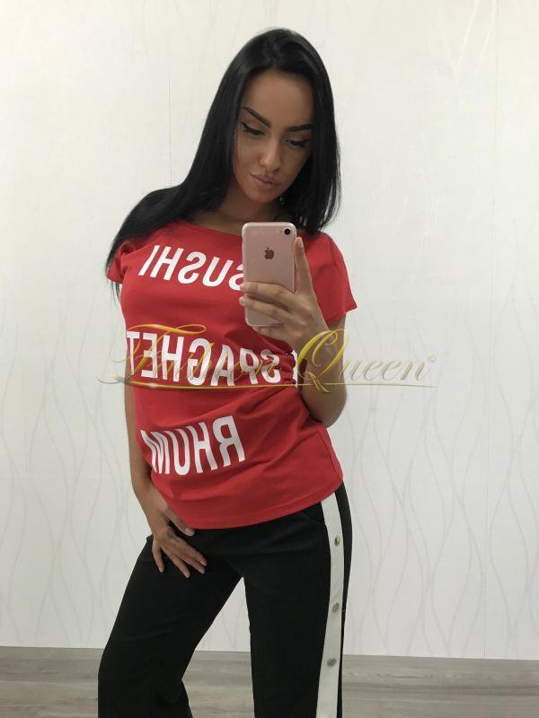 519909b09aef Fashion Queen - Dámske oblečenie a móda - Tričko s nápismi