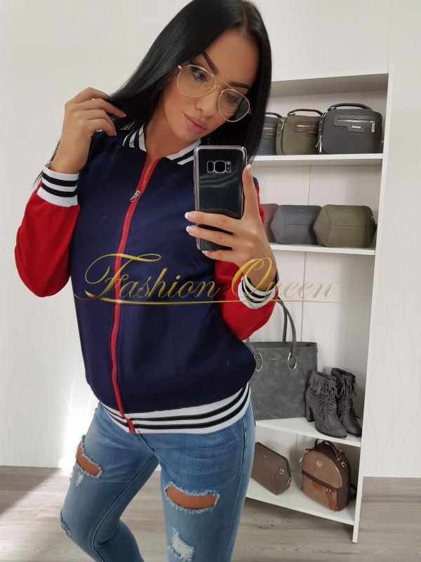 Fashion Queen - Dámske oblečenie a móda - Bomber mikina 5c71622b6dd