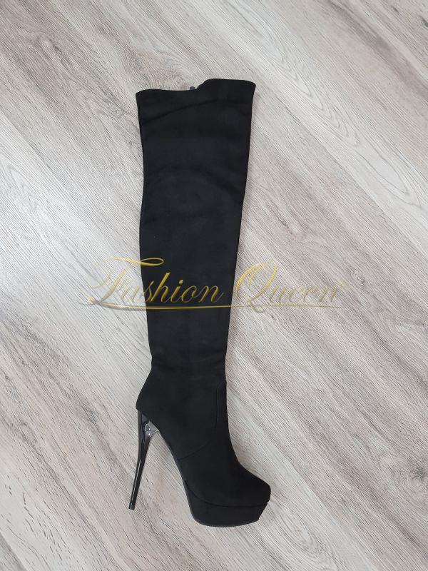 70afd3f3c Fashion Queen - Dámske oblečenie a móda - Luxusné čižmy nad kolená