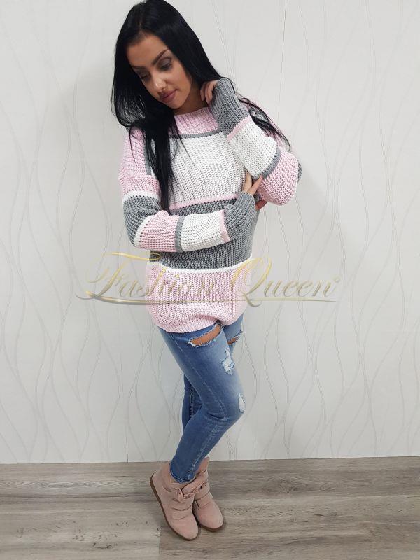 3502919c9fb3 Fashion Queen - Dámske oblečenie a móda - Farebný pulóver