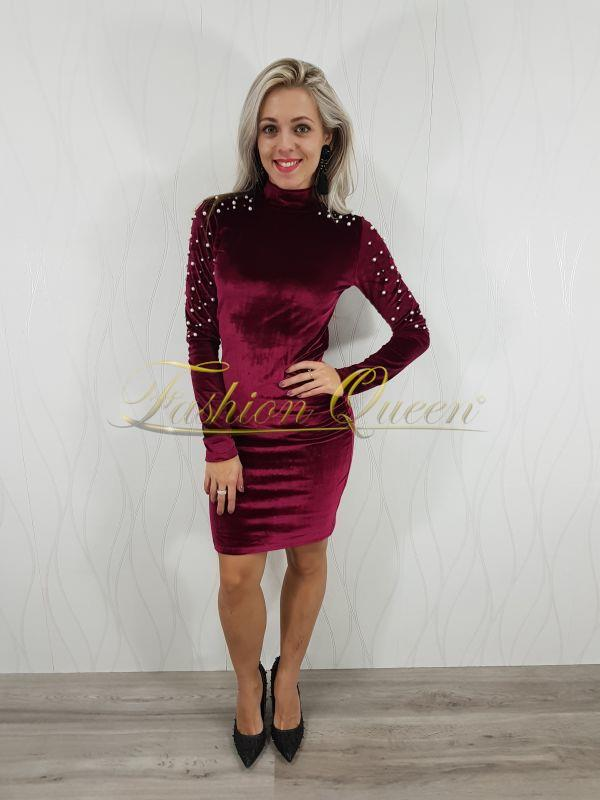 Fashion Queen - Dámske oblečenie a móda - Šaty s perličkami c36031dd192