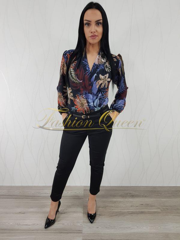 50234b39a1 Fashion Queen - Dámske oblečenie a móda - Blúzka body kvetovaná