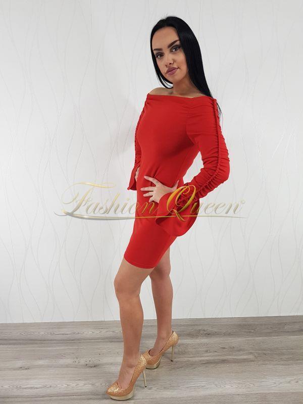 233a465be5e2 Fashion Queen - Dámske oblečenie a móda - Červené minišaty