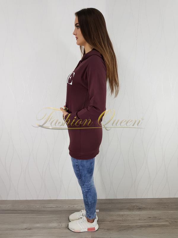 Fashion Queen - Dámske oblečenie a móda - Dlhá mikina VOGUE 1c45adf1454