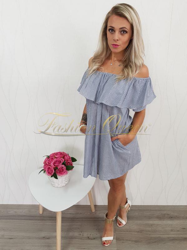 c0cfbf9a2 Fashion Queen - Dámske oblečenie a móda - Pásikavé oversize šaty