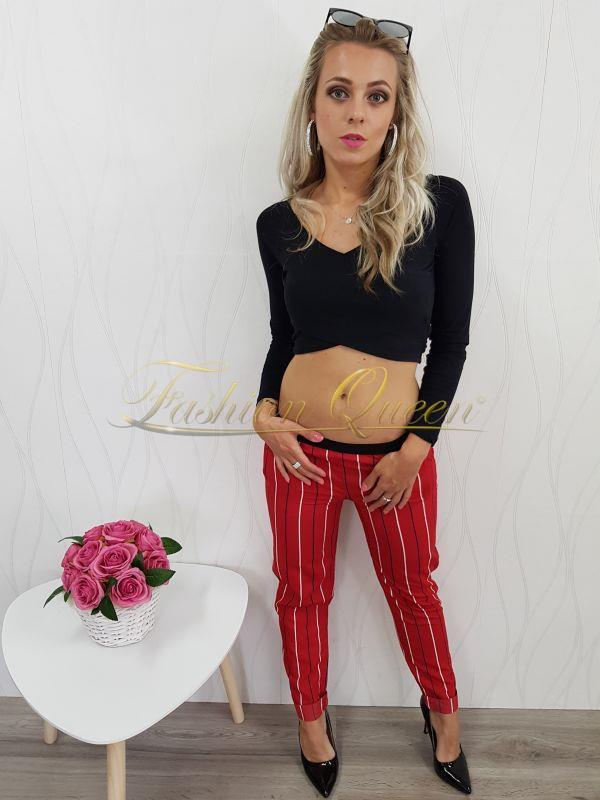 0ee9bfe411ba Fashion Queen - Dámske oblečenie a móda - Pásikavé nohavice