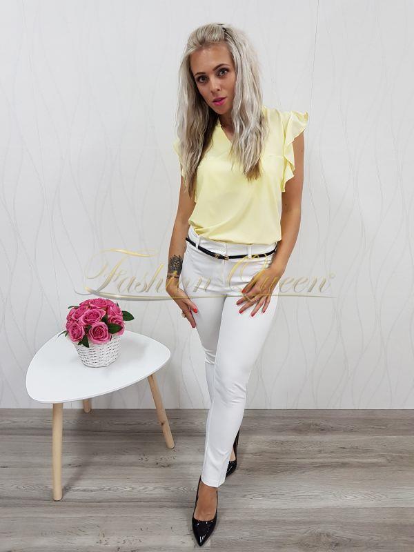 cb0544556727 Fashion Queen - Dámske oblečenie a móda - Nohavice s opaskom