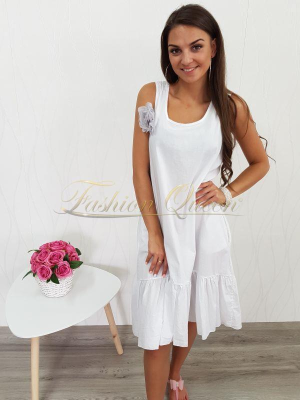 9813ea0f3 Fashion Queen - Dámske oblečenie a móda - Oversize šaty s kvetom