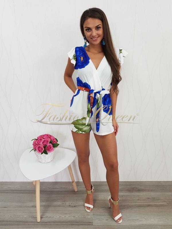 41c6d1184085 Fashion Queen - Dámske oblečenie a móda - Krátky overal s volánom