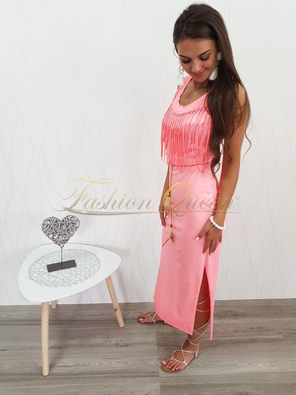a1f864c5a2b5 Fashion Queen - Dámske oblečenie a móda - Maxi šaty so strapcami