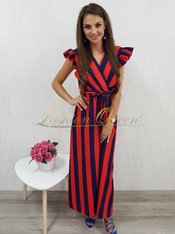 7ca064b8975c Fashion Queen - Dámske oblečenie a móda - Maxi šaty s volánom