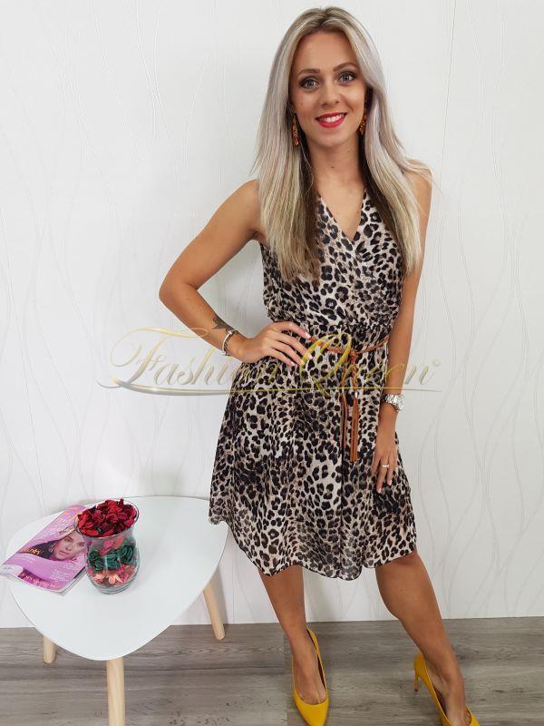 a8bc2c80b Fashion Queen - Dámske oblečenie a móda - Tigrované šaty