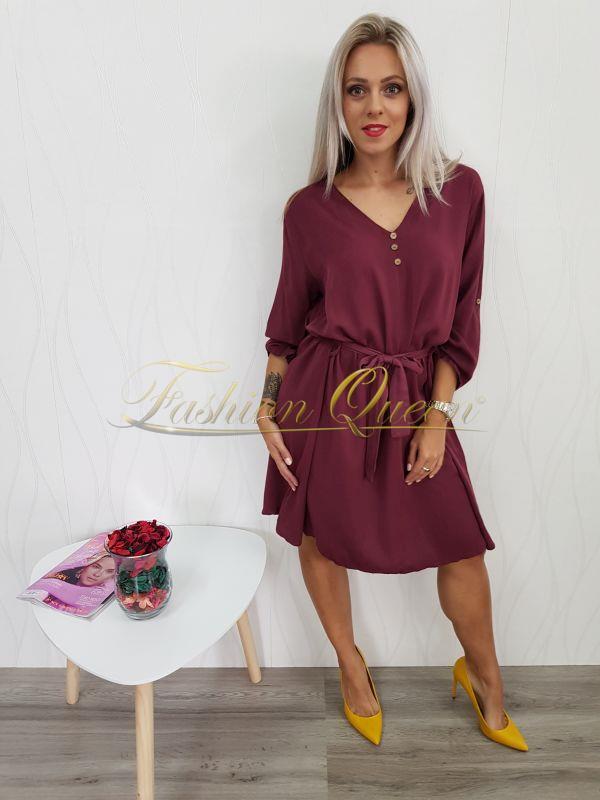 88945cb5c16c Fashion Queen - Dámske oblečenie a móda - Bordové šaty